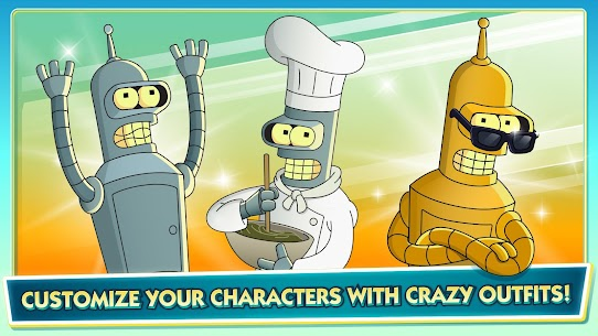 Futurama: Worlds of Tomorrow Mod Apk 1.6.6 3