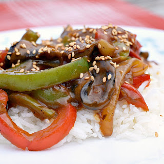 Vegan Chinese Pepper Steak