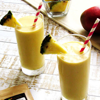 Pineapple Mango Anti-Inflammatory Smoothie.