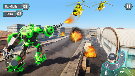 us army robot fps shooting strike game 3d 2020 screenshot 3