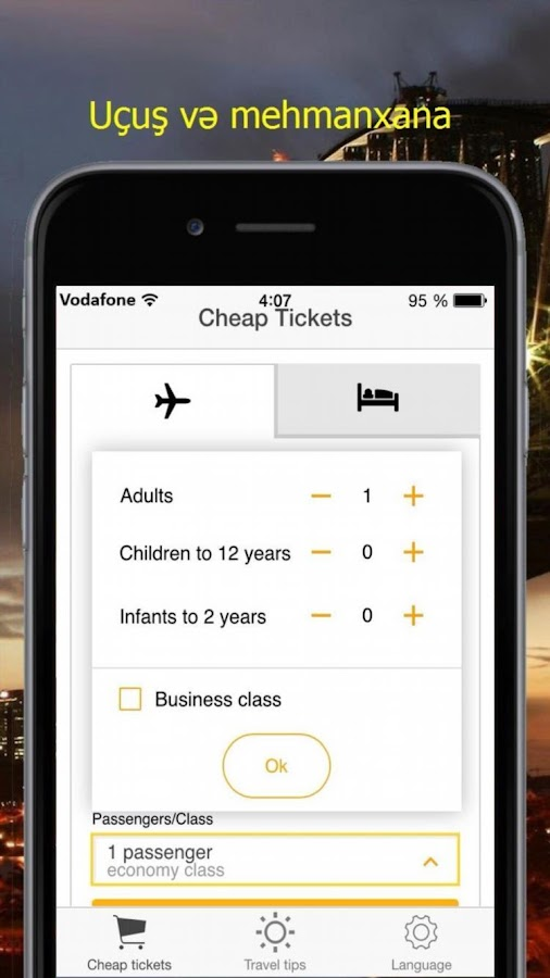 Air Tickets Discount- screenshot