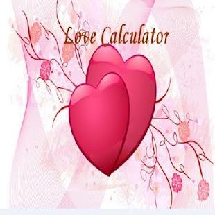 LoveCalculator - náhled