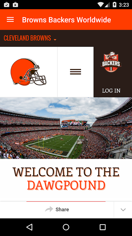 Cleveland Browns- screenshot