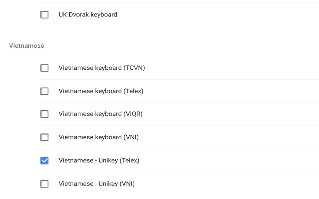 Unikey - Vietnamese IME (beta) - Chrome Web Store
