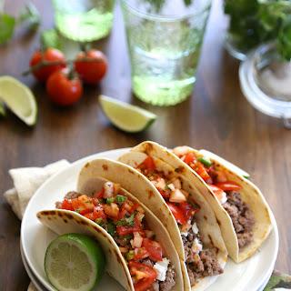Spicy Lamb Tacos with Harissa Pico De Gallo Recipe