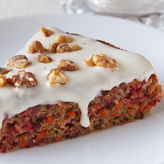Cranberry-Carrot Cake Recipe
