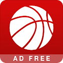 Basketball NBA Schedule AdFree icon