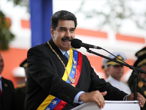 Venezuela's President Nicolas Maduro attends a ceremony to commemorate the Congress of Angostura in Ciudad Bolivar on February 15, 2019. /REUTERS