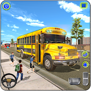 School Bus Driving Games : City Coach Bus Driver