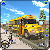 School Bus Driving Games : City Coach Bus Driver Android APK Download Free By Games Astra