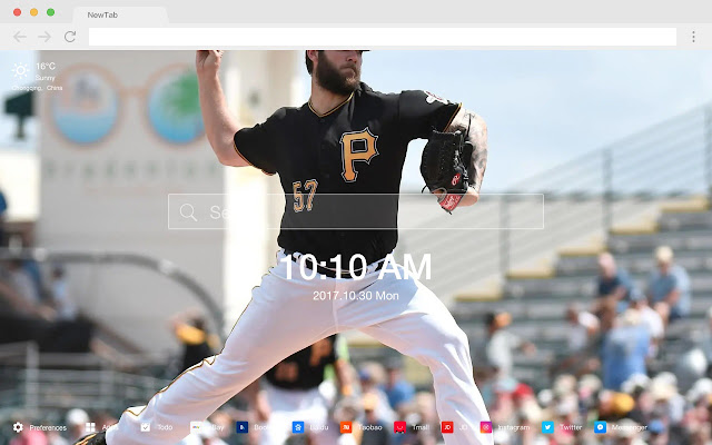 Pittsburgh sports HD New Tab Sports Themes