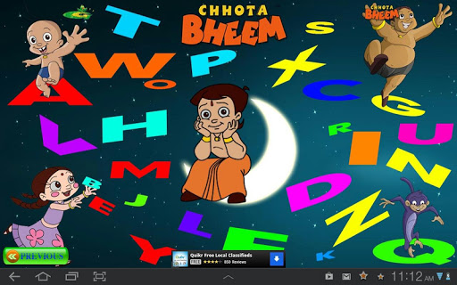 Animal Alphabets with Bheem