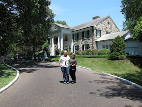 Photo: Elvis Presley Mansion House.