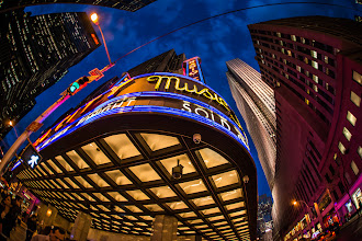 Photo: Some fun with a fisheye in New York City.