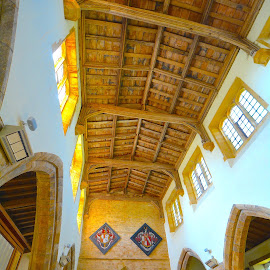 by Victoria Eversole - Buildings & Architecture Places of Worship ( medieval church architecture, great britain, historic buildings, church interiors )