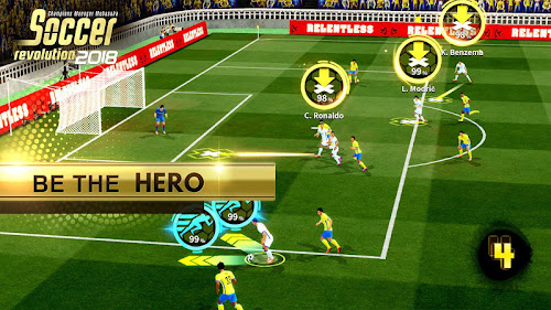 Soccer Revolution 2018: 3D Real Player MOBASAKA Screenshot