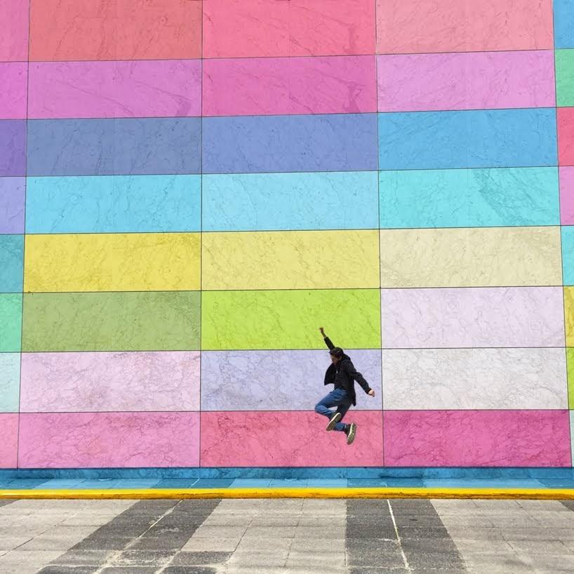 Un mundo de arco iris se presentan en estas coloridas fotografías
