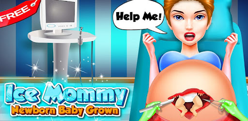 Ice Mommy Newborn - Baby Grown for PC