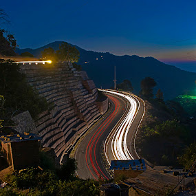 Himalayan Expressway by Havneet Singh - Landscapes Starscapes