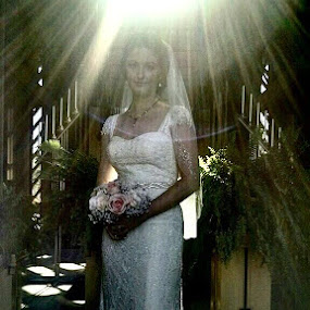 The new Mrs. Tower is off honeymooning happily ever after :)....I took this picture with my droid at the Marty Leonard Chapel by Terri Moore - Uncategorized All Uncategorized ( best female portraiture )