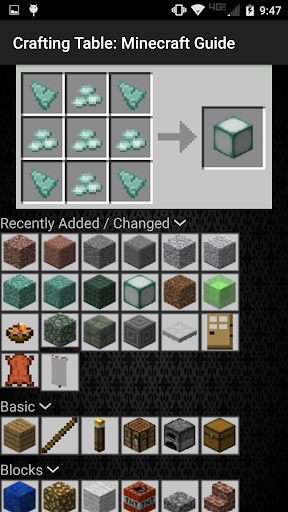 Crafting Table Minecraft Guide 1.12.2 screenshots 2