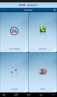 Screenshot of Touch 24 Banking BCR