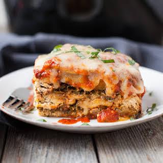 Butternut Squash and Kale Slow Cooker Lasagna.