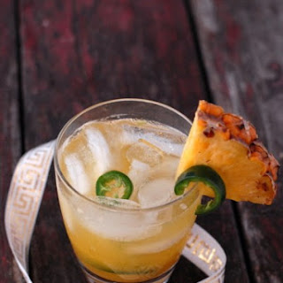 The Spicy Maiden cocktail.