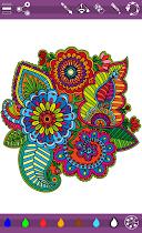Colorish mandala coloring book - screenshot thumbnail 12