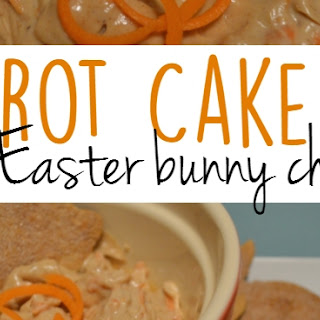 Carrot Cake Dip with Easter Bunny Chips