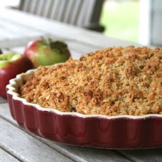 Apple Crisp With Orange Zest Recipes