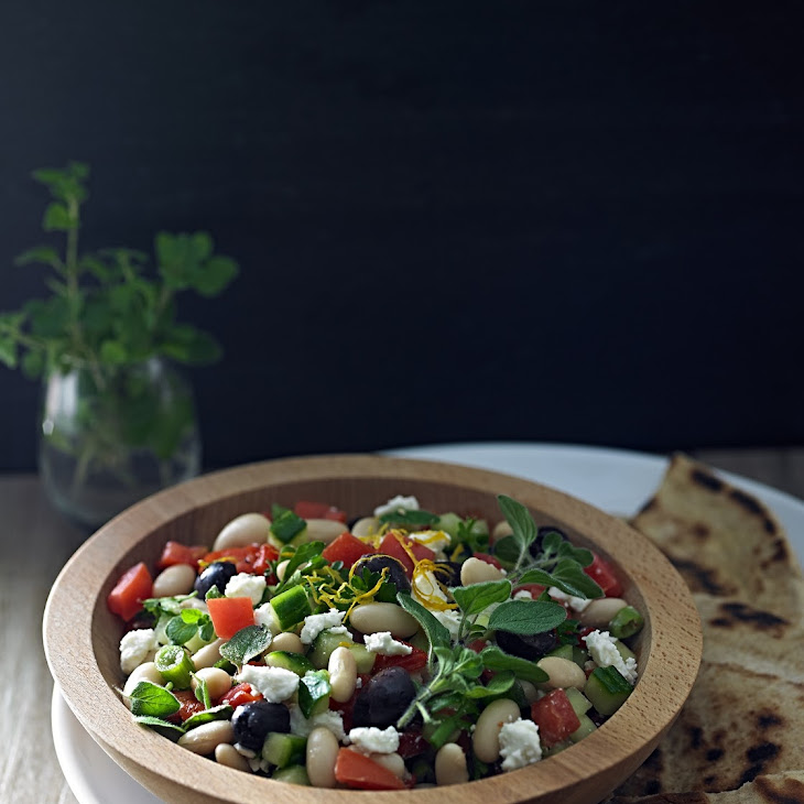 Mediterranean White Bean Salad Recipe