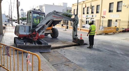 Obras de mejora del espacio peatonal y el itinerario escolar en la Calle Mayor