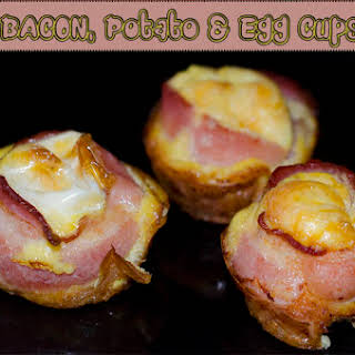 How To Make Bacon, Potato & Egg Cups (Recipe).