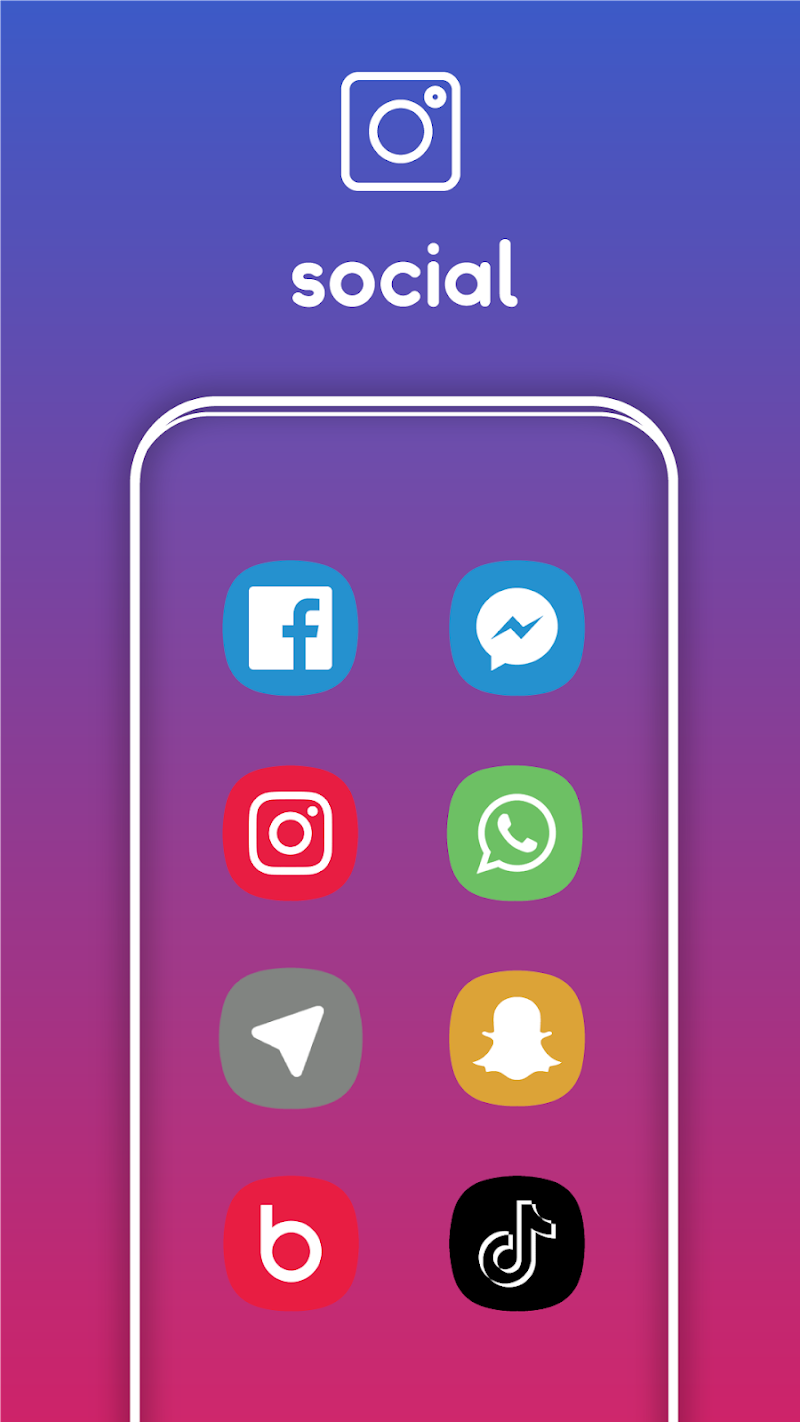 One UI Pie - Icon Pack Screenshot 3