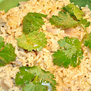 Brown Rice With Coconut Milk