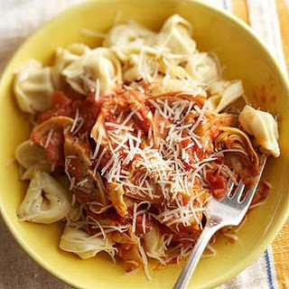 Garlic-Artichoke Pasta