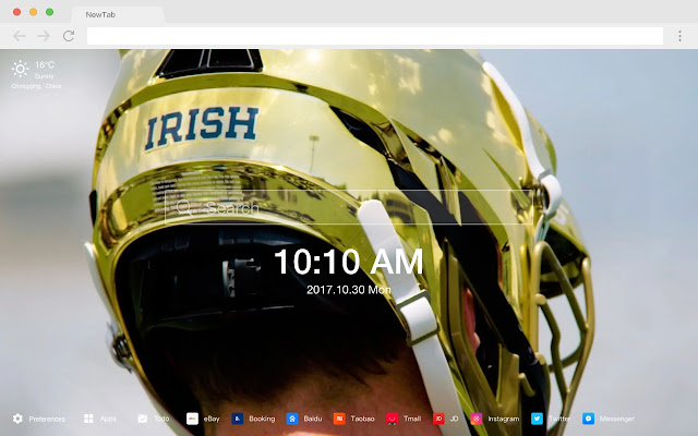 Notre-Dame HD New Tabs Popular Sports Themes
