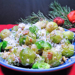 Sprouts With Three Crumbs