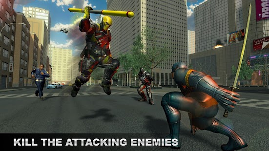 Stroke Superhero: Gangster City Battle Simulator - náhled