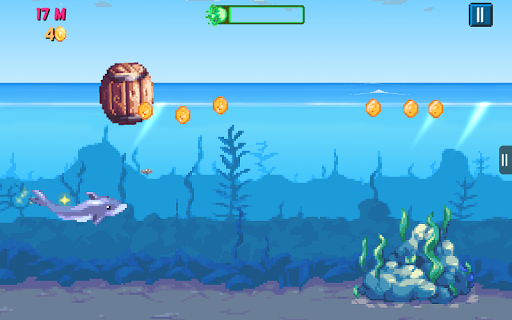 Rainbirth Dolphin Show Infinite Runner Water Race  screenshots 16