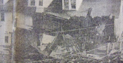 Photo: A collapsed home in Torrington