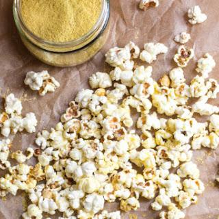 Nutritional Yeast Popcorn (Best Popcorn Ever!!) | #SundaySupper Recipe