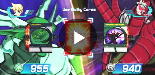 Trick Bakugan Battle Brawler game (apk) free download for Android/PC/Windows screenshot