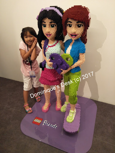 Tiger girl posing with her favourite FRIENDS characters