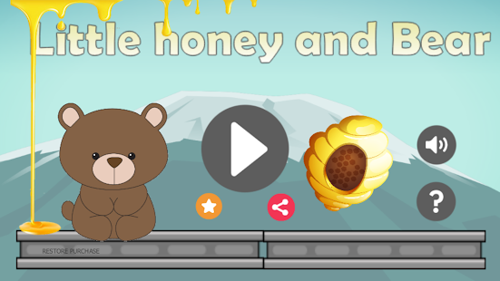 Little Honey And Bear : Adventure & Super Game - náhled