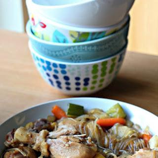Dakjjim- Braised Chicken with Vegetables 닭찜 (GF, Oil-Free)