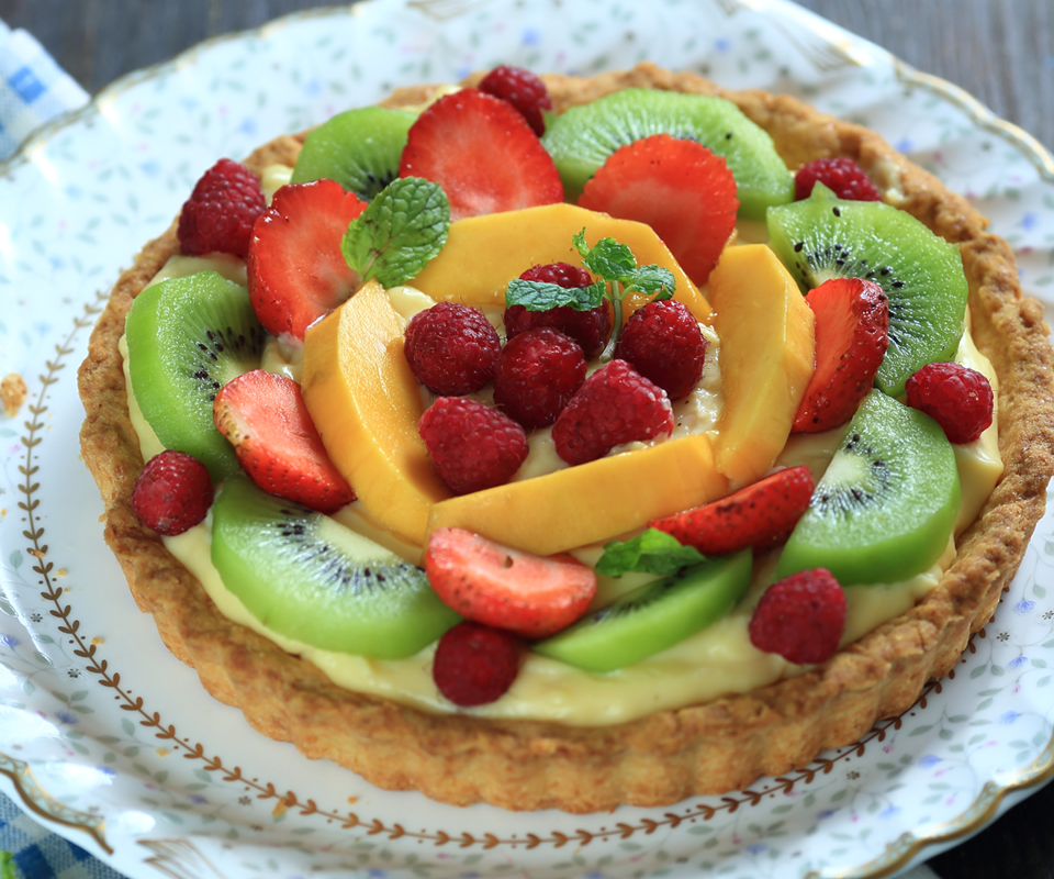 Tự nướng bánh tart trái cây siêu xinh làm quà tặng bạn bè