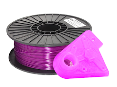 Translucent Violet PRO Series PLA Filament - 2.85mm (1kg)