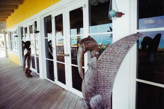"""Photo: #003-Le Club Med """"Columbus Isle"""" dans l'île San Salvador"""
